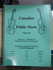 Canadian Fiddle Music Volume 2 Ed Whitcomb 350 Tunes