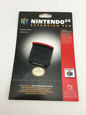 N64 Official Nintendo Brand Authentic Expansion Pak Tested Pack OEM, card