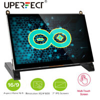 "New 7"" Portable Touchscreen DIY Monitor for Raspberry Pi Capacitive Touh Screen"