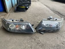 Honda Accord MK7 Pair Of Modified Headlights HID + Angel Eyes Fitted
