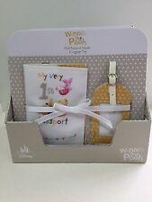 Passport Holder And Luggage Label Fabric Winnie The Pooh Hallmark 115