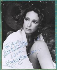 Marisa Berenson black and white photograph autograph inscribed