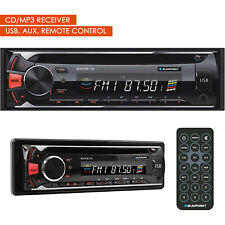 Blaupunkt 120W Bos100 Boston 100 Car Audio In-Dash Cd/Mp3 Receiver w/ Usb Aux