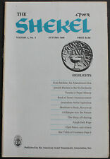 Vintage The Shekel 1968 Jewish Medals In The Netherlands + more Scarce Reference