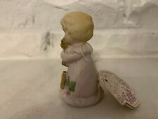 Enesco Growing Up Birthday Girls Age 1 First Birthday 1981 Figurine Vintage