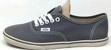 Vans Unisex Adult Authentic Lace Skate Shoes Pewter Size Mens 4.5 / Womens 6