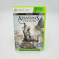 Assassin's Creed III 3 (Microsoft Xbox 360 Video Game) Target Edition