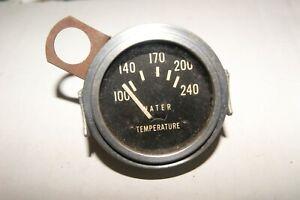 """Stewart Warner vintage gauge 2 1/16"""" electric 12 Volt water temperature SW-15"""