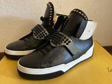 Fendi Herrenschuhe Leder Sneakers Gr.42 Neu