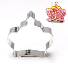 Cookie Cake Biscuit Crown Shape Cutter Mould Baking Molds Tool Kitchen Supplies