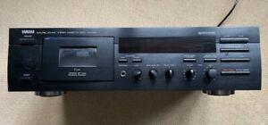YAMAHA Natural Sound stereo cassette deck KX-390.