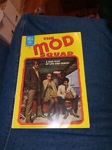 The Mod Squad 1970 Dell TV show Comic Book #6 photo cover peggy lipton