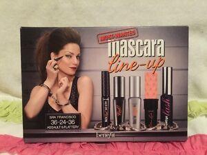 Benefit Cosmetics Mascara Most Wanted Mascaras and Eye Liner Set. 5 PIECE SET