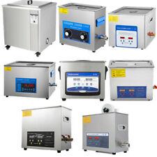 1.3-30L Nettoyeur à Ultrasons Numérique Cleaner Ultrasonique Chauffage Inox
