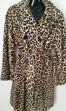 Vintage Original 70's' Gorgeous!  Leopard Print Faux Coat
