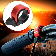 Invisible Bicycle Ring Bell Cycling MTB Bike Handlebar Alarm Horn Q-shape Red