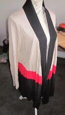 Chic*BNWT*RRP $49.00*Moda*cardigan*Autumn*Winter*long*block colours*warm & soft!