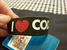 I Love Cody Simpson Rubber Bracelet Black