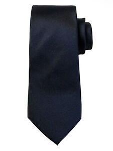 NWT Banana Republic 100% Silk Navy Blue Oxford Nanotex Tie Stain Resistant