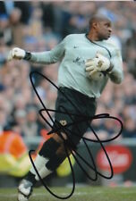 MK DONS HAND SIGNED WILLY GUERET 6X4 PHOTO.