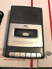 Rca Portable Recorder Cassette Player Rp3504c Vintage
