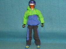 "MAX STEEL BIKE RIDER 1998 MATTEL 12"" ACTION FIGURE TOY"