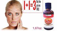 Vitamin C Hyaluronic Acid Vitamin A,E,F Anti Wrinkle Face Serum 50ml.