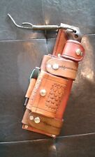 Handmade Leather Bush craft Sheath. Vert Horiz for Ka Bar Becker BK2,BK10,BK16