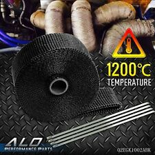 10 m Fiberglass Exhaust Protection Pipe Heat Header Insulation Tape Turbo Wrap