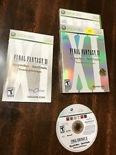 Final Fantasy XI Online Microsoft Xbox 360 Video Game Tested