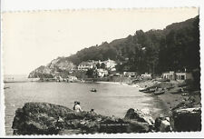 Devon - Torquay, Babbacombe Beach  - Real Photo Postcard posted 1953