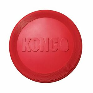 Brand New KONG-Flyer-Durable Rubber Flying Disc Dog Toy Fun for You and Your Dog