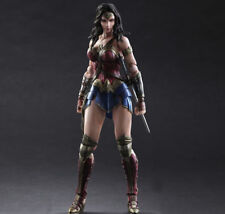 Play Arts Kai PA Wonder Woman Action Figure Dawn Of Justice Toy Doll Model
