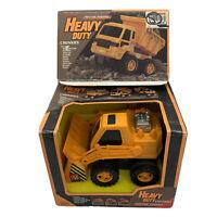 Supertoys 1991 Heavy Duty Chunkies Dump Truck Vintage Toy Plastic Friction Power