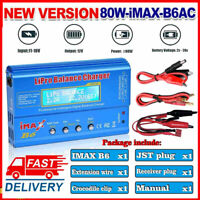 Htrc Imax B6 AC 80W Digital LCD RC Li-Po Life Nimh Nicd Akku Balance Ladegerät