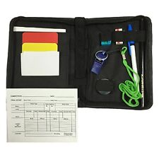 New Referee Data wallet Referee set cards Whistle Stopwatch Lanyard Coin pencil