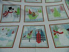 tela patchwork de Navidad All Over cada 60cm x 112 cmbw multicolor. weihn.motiv