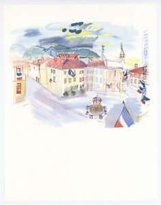 """Raoul Dufy print from """"Vacances Forcées"""" 615891"""