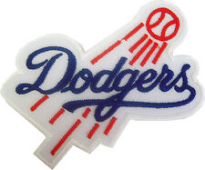 New MLB LA Los Angeles Dodgers logo Baseball embroidered iron on patch. (IB1)