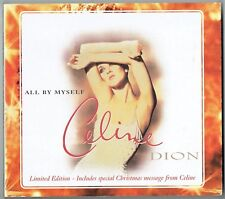 "CELINE DION - 5"" CD - All By Myself (Limited Edition ) 4  Tracks.  EPIC"