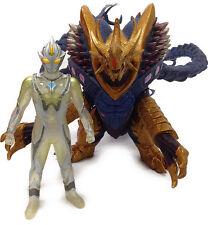 Japan Rare BANDAI Ultraman Mebius Infinity U-Killer saurus set PVC Figures MISB