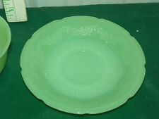 Vintage Fire King Jade-ite Jane Ray Coffee Tea Saucer Plate Dish Mint    L5