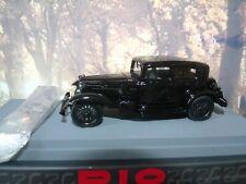 """1/43 Rio (Italy) 1930 Alfa Romeo """"Villa Torlonia"""" Roma with figure #010"""