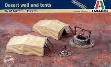 Italeri 1/72 6148 Desert Well and Tents (Diorama Accessories)