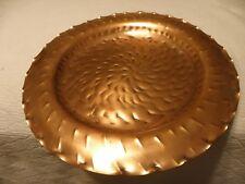 Vintage solid copper tray