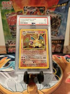 PSA 5 Pokemon 2000 Charizard Base Set 2 Holo Rare 4/130