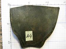 Original Büffelhorn schwarz ca. 11x10x0,4cm für japanische Katana Tanto Nr. A4