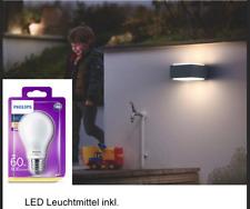 Philips MyGarden LED Wandaussenleuchte Hedgehog, anthrazit mit LED 17337-93-PN