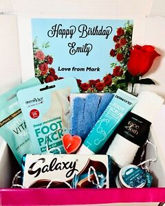 LADIES Hamper Pamper Gift Present Personalised Spa Birthday Gift For Her