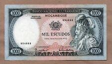 MOZAMBIQUE - PORTUGAL - 1000 ESCUDOS - 16.5.1972 - P112a